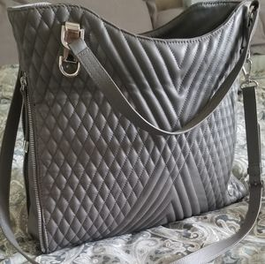 Vince Camuto Quilted Riley Tote